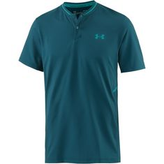 Under Armour French Open Tennis Polo Herren tourmaline teal-swallowtail