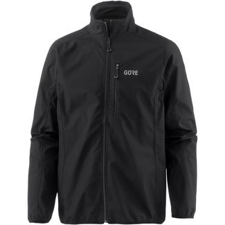 GORE® WEAR C3 WINDSTOPPER® Funktionsjacke Herren black