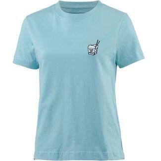 DEDICATED T-Shirt Damen beach blue