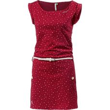Ragwear TAG A ORGANIC Jerseykleid Damen chili-red