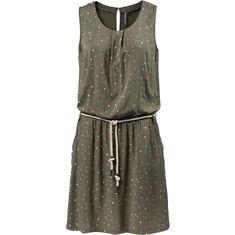 Ragwear LEONA Jerseykleid Damen olive