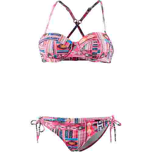 Protest Hitachi Bikini Set Damen pink flirt