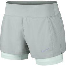 Nike Flex Triumph Laufshorts Damen light pumice-barely grey-reflective silver