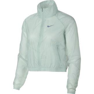 Nike TRANSPARENT Laufjacke Damen barely grey-reflective silver