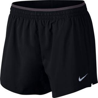 Nike Elevate Laufshorts Damen black-gunsmoke-reflective silver