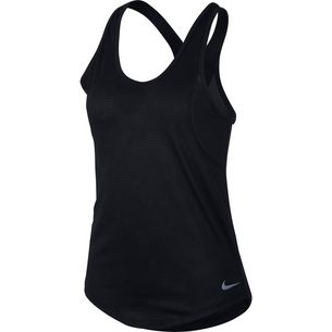 Nike Jacquard Funktionstank Damen black-reflective silver