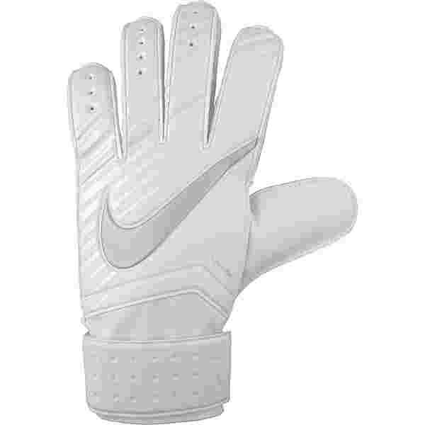 Nike GK MTCH Torwarthandschuhe white-white-chrome