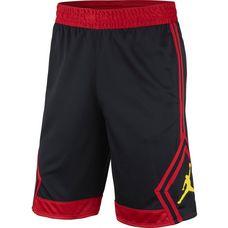 Nike RISE DIAMOND Basketball-Shorts Herren black-gym red