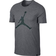 Nike M JSW TEE ICONIC JUMPMAN Basketball Shirt Herren carbon heather