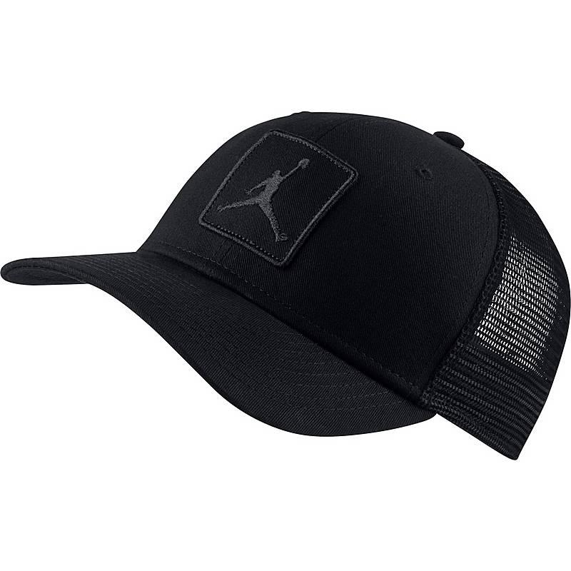 Nike JORDAN JUMPMAN CLC99 TRUCKER Cap Herren black-black im Online ... 7ea4ccbc877