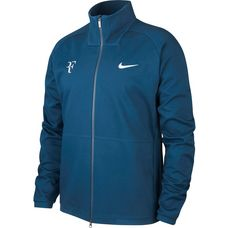 Nike RF M NKCT JACKET Trainingsjacke Herren BLUE FORCE/DK GREY HEATHER/NEO TURQ/(METALLIC SILVER)