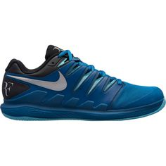 Nike Paris NIKE AIR ZOOM VAPOR X CLY Tennisschuhe Herren GREEN ABYSS/MULTI-COLOR-BLEACHED AQUA-BLACK
