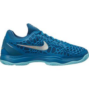 Nike Paris NIKE AIR ZOOM CAGE 3 CLY Tennisschuhe Herren GREEN ABYSS/MTLC SILVER-BLUE FORCE-BLEACHED AQUA