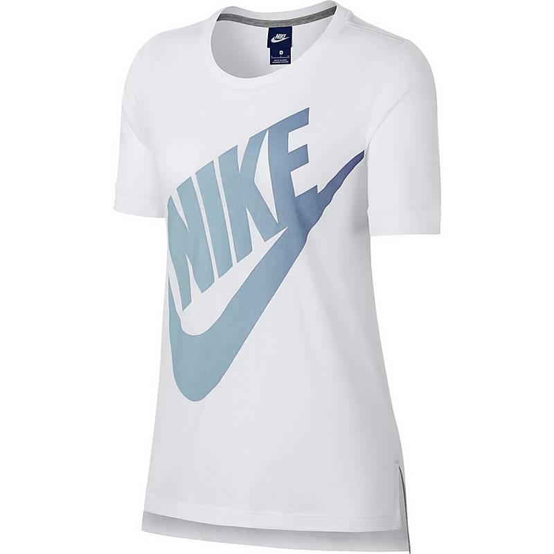 nike logo shirt damen