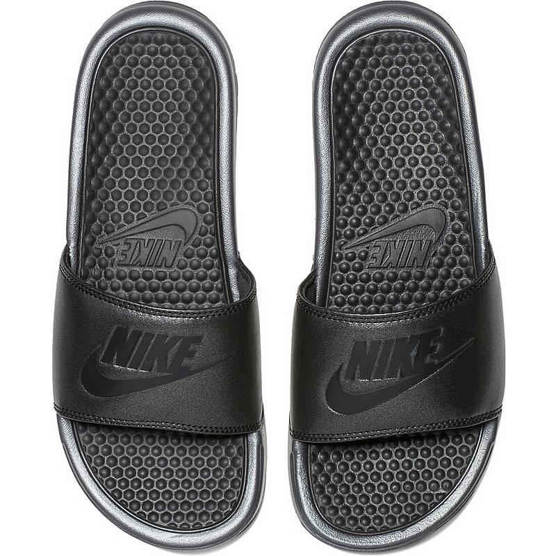 NikeSlides BENASSI JDI  SandalenDamen  mtlc black