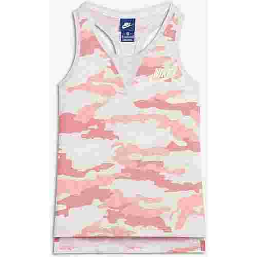 Nike Tanktop Kinder bleached coral-birch heather