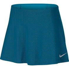 Nike French Open W NKCT ZCL SMASH SKIRT PS NT Tennisshirt Damen neo turq-black