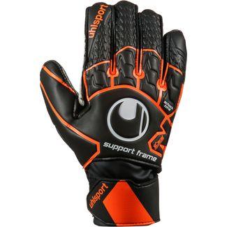 Uhlsport Soft Resist SF Torwarthandschuhe schwarz-fluo orange-weiß