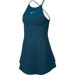 Nike MARIA W NKCT DRSS PS Tenniskleid Damen blue force-metallic silver