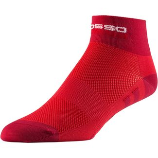 castelli Red Corsa Fahrradsocken Damen red