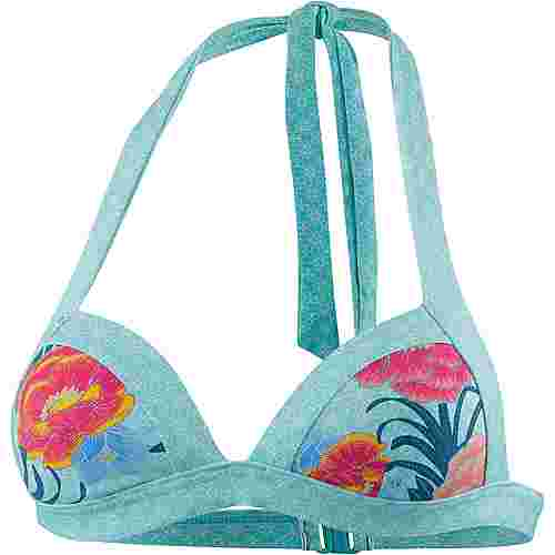 ESPRIT Peony Beach Bikini Oberteil Damen light turquoise