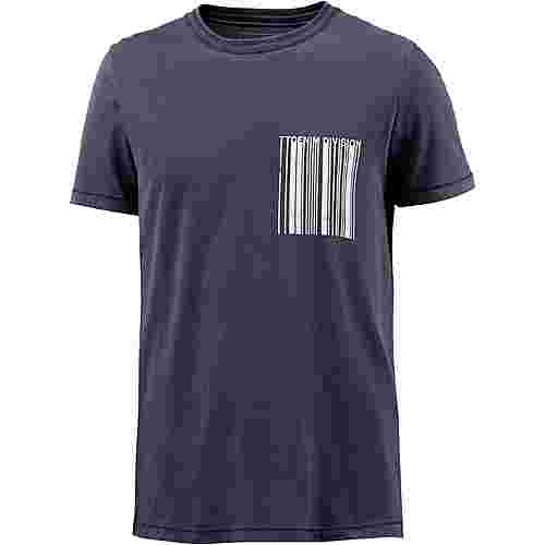 TOM TAILOR T-Shirt Herren true dark blue