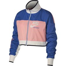 Nike NSW TRK ARCHIVE Jacke Damen bleached coral-game royal-sail