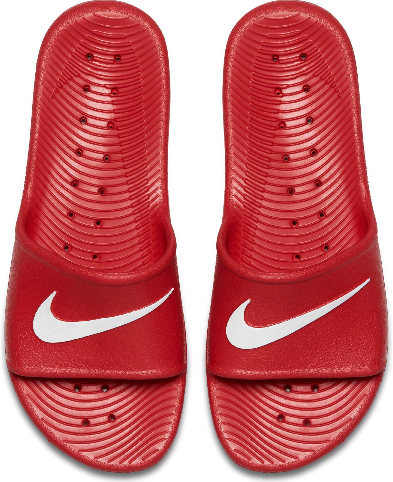 Nike KAWA SHOWER Badelatschen UNIVERSITY rot Weiß im Online Shop von SportScheck kaufen Gute Qualität beliebte Schuhe