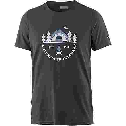 Columbia Nelson Point T-Shirt Herren shark