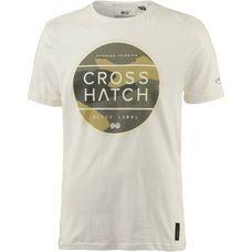 Crosshatch Watkins Printshirt Herren vaporous grey