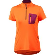 CMP WOMAN FREE BIKE Fahrradtrikot Damen orange fluo