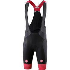 castelli Free Aero Race Bibtights Herren black/red
