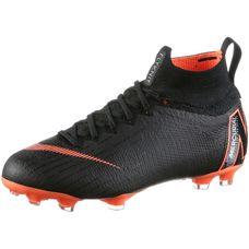 Nike JR MERCURIAL SUPERFLY 6 ELITE FG Fußballschuhe Kinder black/total orange-white