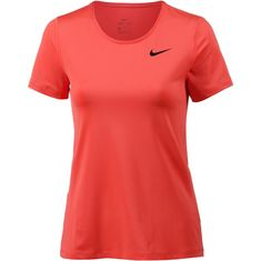 Nike Pro All Over Mesh Funktionsshirt Damen rush coral-black
