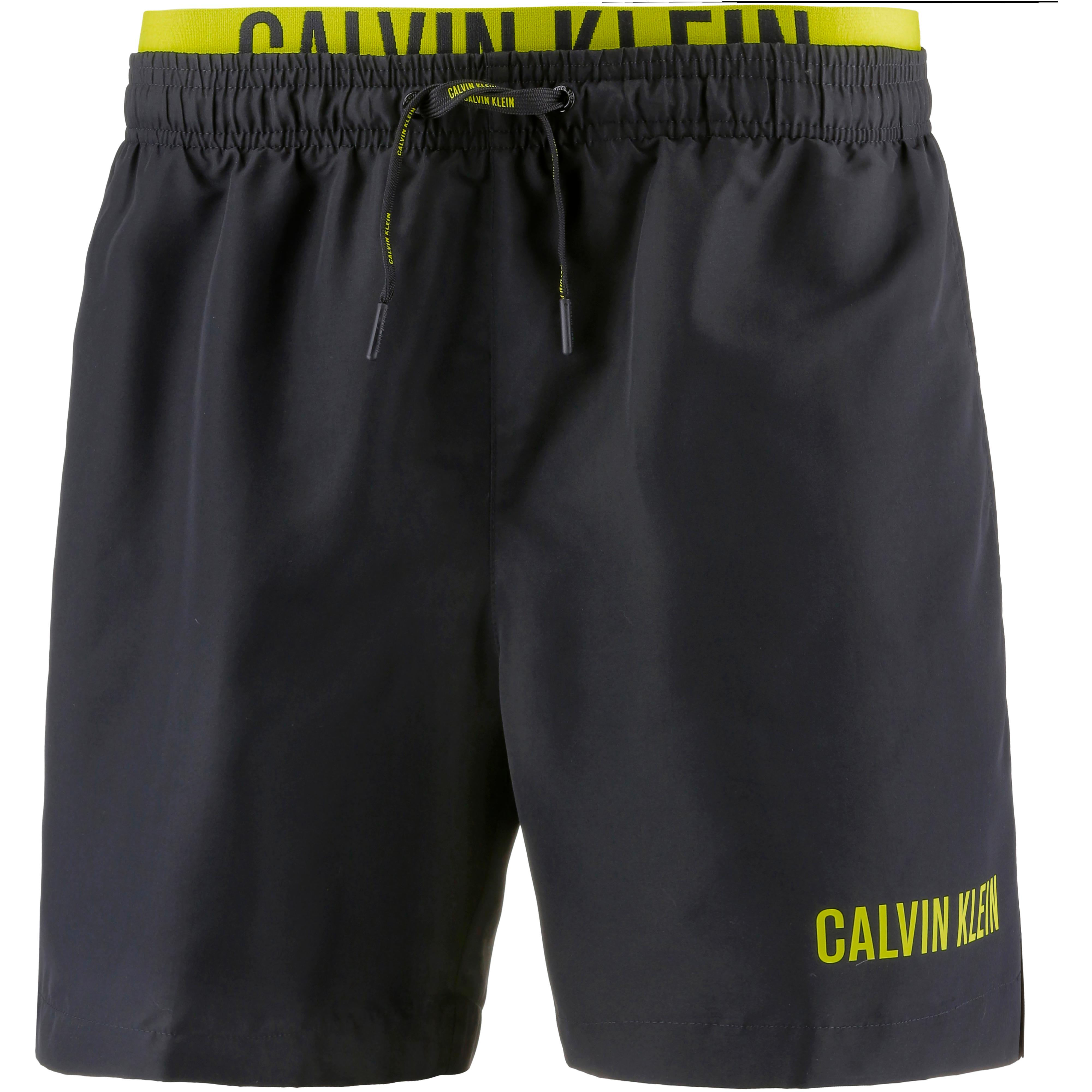 auf Lager ff0b6 b615c Calvin Klein Intense Power Badeshorts Herren black im Online Shop von  SportScheck kaufen