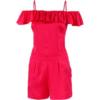 Beachlife Jumpsuit Damen rot