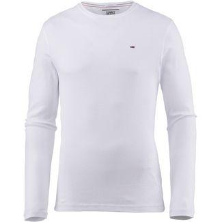 Tommy Jeans Original Langarmshirt Herren classic white