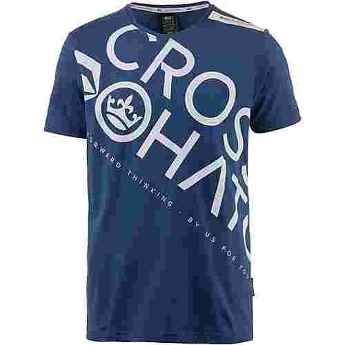 Crosshatch T-Shirt Herren estate blue