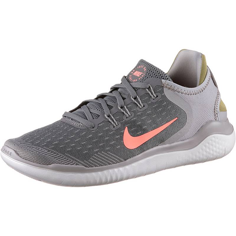 low priced c1919 4fa5a Nike FREE RN 2018 Laufschuhe Damen gunsmoke-crimson-pulse-atmosphere-grey-