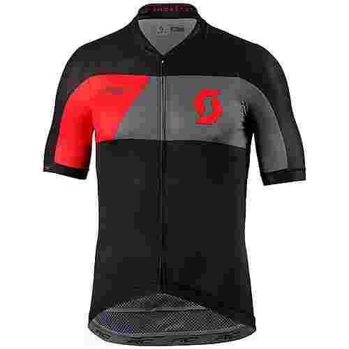 SCOTT RC Premium Fahrradtrikot Herren black/fiery red