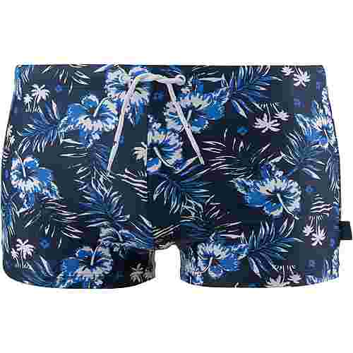 TOM TAILOR Tyler Kastenbadehose Herren blue nights aop