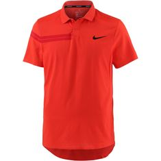 Nike Roger Federer Zonal Cooling Tennis Polo Herren HABANERO RED/HABANERO RED/GYM RED/(BLACK)