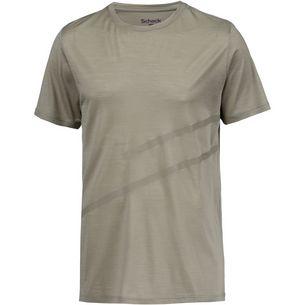 SCHECK Merino T-Shirt Herren beige