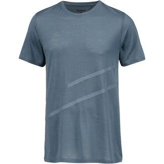 SCHECK Merino T-Shirt Herren hellblau