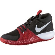 Nike Zoom Assersion Sneaker Kinder black-white-gym-red