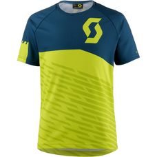 SCOTT Shirt Jr Trail 10 s/sl Fahrradtrikot Kinder sulphur yellow/lunar blue