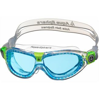 Aqua Sphere Seal Kid 2 Schwimmbrille Kinder clear/lime/blue