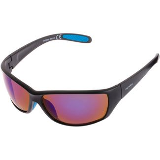 Maui Wowie SHINY Sportbrille shiny black-brown blue flash