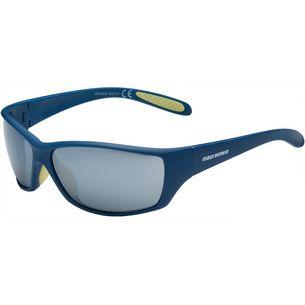 Maui Wowie SHINY Sportbrille matte blue-smoke silver flash