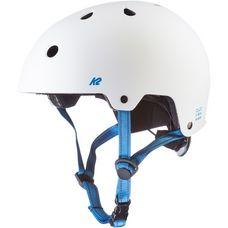 K2 Varsity Skate Helm weiss-blau